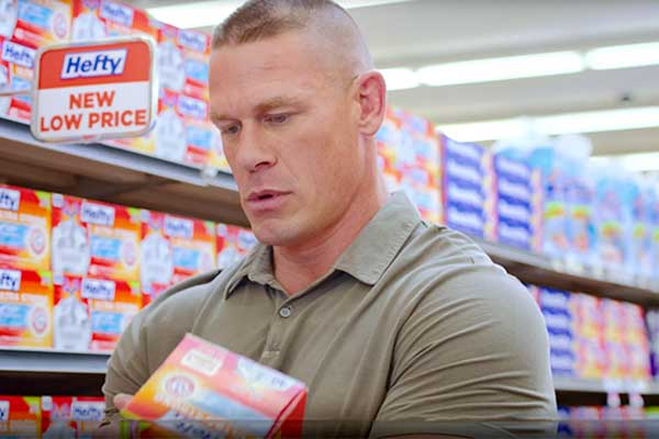 Videos John Cena S First Hefty Ultra Strong Commercials