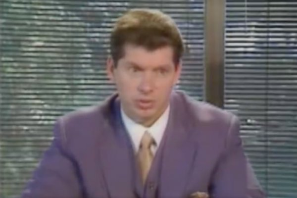 Watch The Bbc Interviews Vince Mcmahon In His Office In 1985