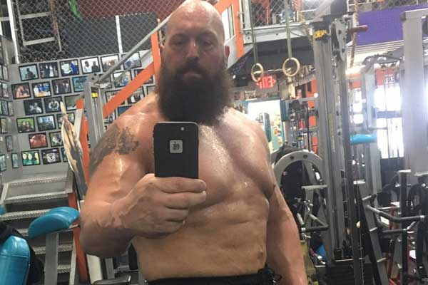 big show getting shredded for wrestlemania match with shaq sescoops