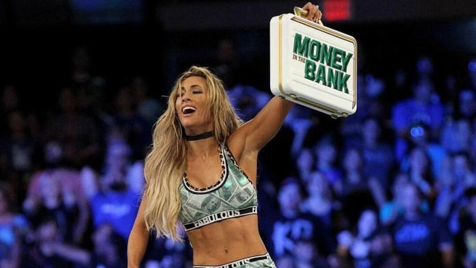 Image result for carmella money in the bank