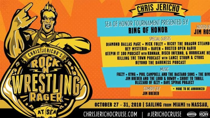 Chris Jericho Unveils 1st Round Matches For Sea Of Honor ...