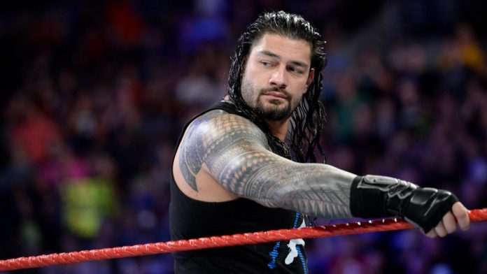 roman reigns update after collision on wwe raw ember moon reacts to