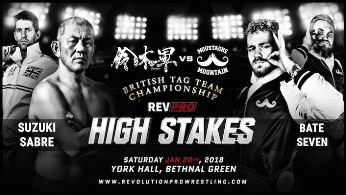 Full Card for Rev Pro 'High Stakes' This Saturday Feat WWE