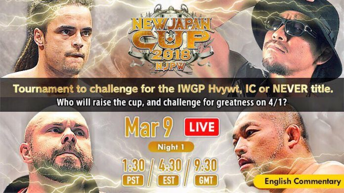 New Japan Cup Night One