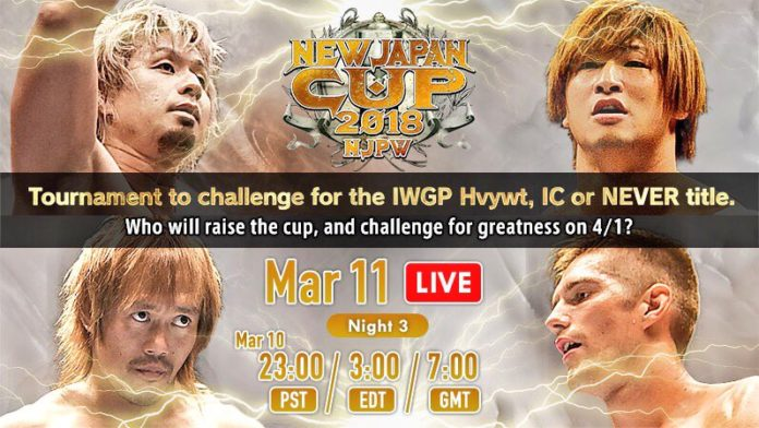 New Japan Cup Night Three