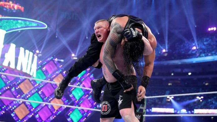Brock Lesnar - WrestleMania