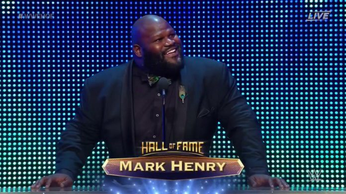 Image result for wwe hall of fame 2018 mark henry