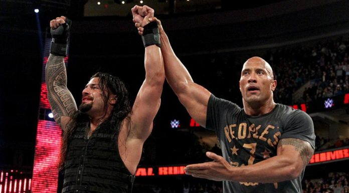 Roman Reigns & The Rock