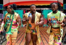 Big E, Kofi Kingston and the New Day. Money In The Bank