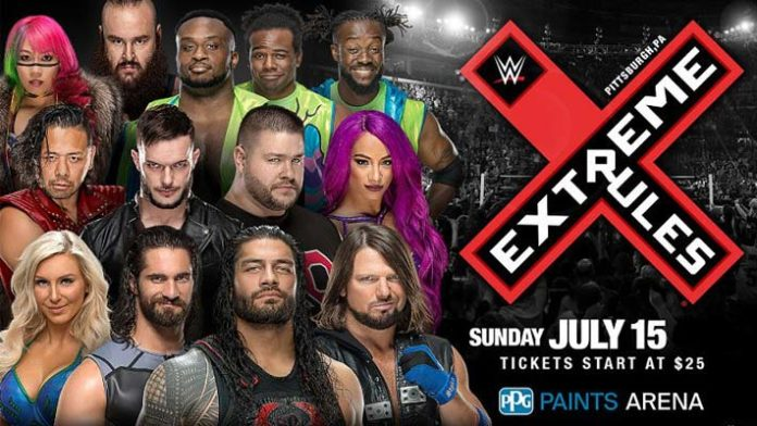 New Matches Locally Advertised For WWE Extreme Rules