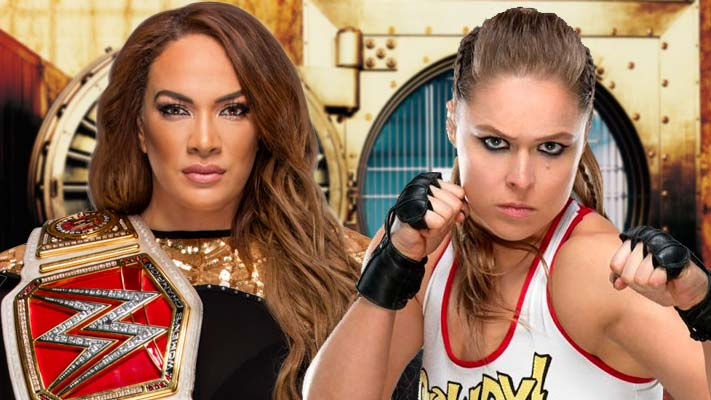 Ronda Rousey Vs Nia Jax Official For Money In The Bank