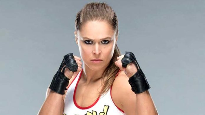 Photo Surfaces Of Ronda Rousey Wearing Cast At RAW
