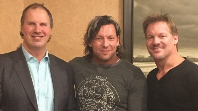 Don Callis Kenny Omega Chris Jericho
