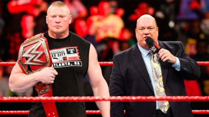 Image result for Brock Lesnar and Paul Heyman