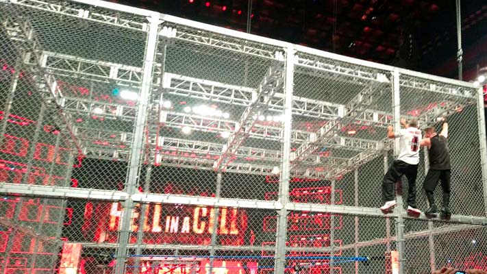 Two Matches Advertised For September S Hell In A Cell Ppv