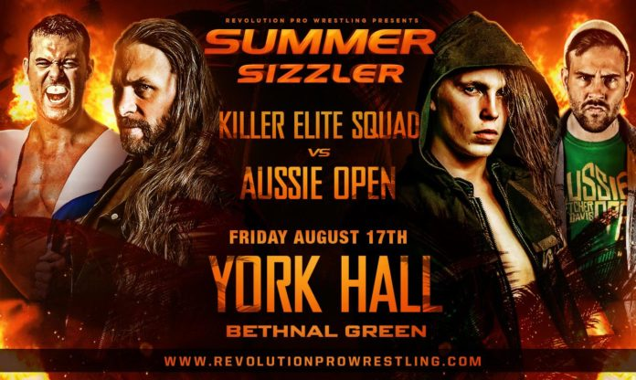 Two More Confirmed Matches for Rev Pro's Summer Sizzler 2018