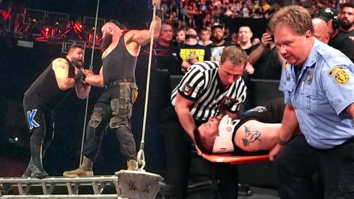 Kevin Owens Injury Update Following Extreme Rules Cage ...