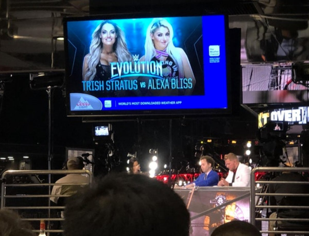 Alexa Bliss vs. Trish Stratus Announced For Evolution