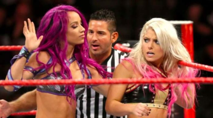 Sasha Banks and Alexa Bliss