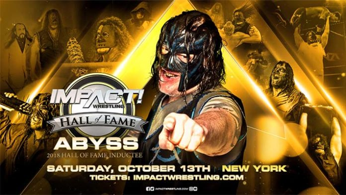 Image result for Abyss revealed as newest inductee to Impact hall of fame