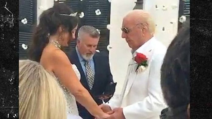 Ric Flairs Ties the Knot for the Fifth Time