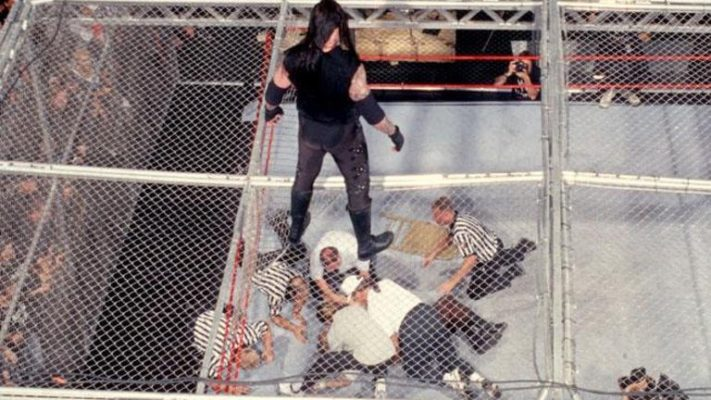 The Undertaker Recalls Dangerous Moment Atop Hell In A Cell