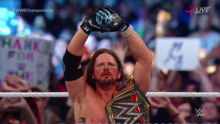 AJ Styles Retains WWE Title At Super Show-Down