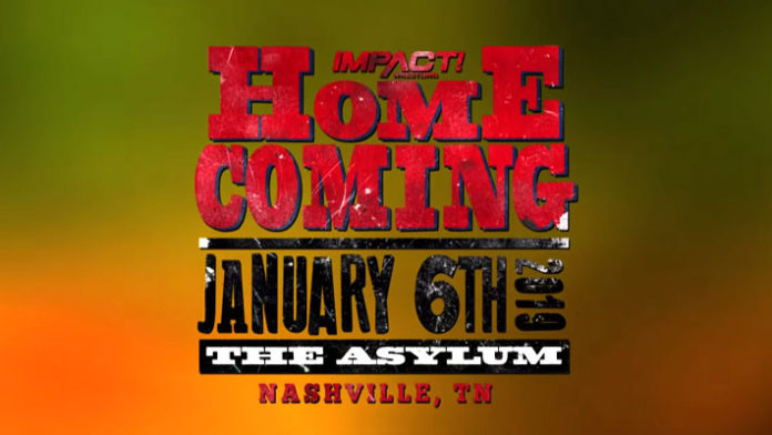 Impact Wrestling Home Coming