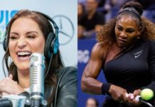 Stephanie McMahon Serena Williams