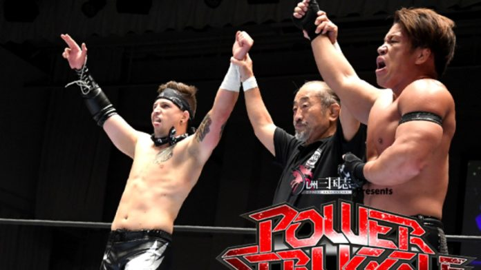 Robbie Eagles Bullet Club