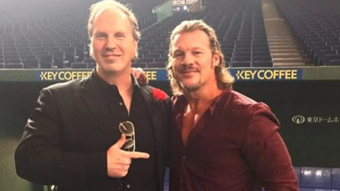 Don Callis and Chris Jericho