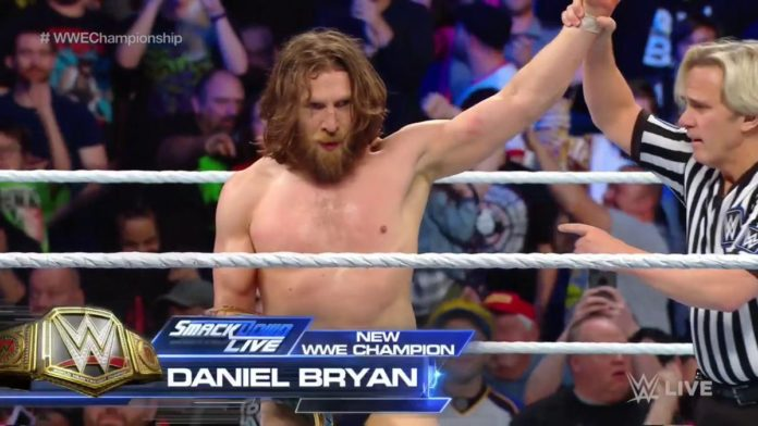 Image result for wwe daniel bryan wwe champion