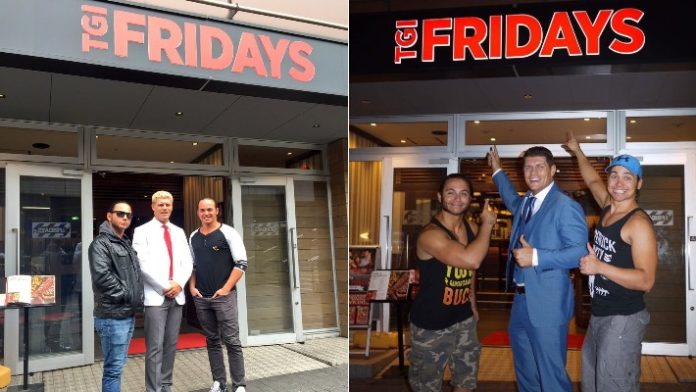 Young Bucks TGI Fridays