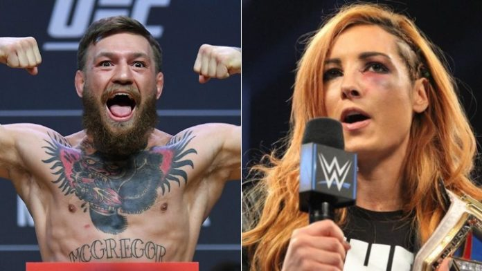 Conor McGregor Becky Lynch