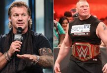 Chris Jericho Brock Lesnar