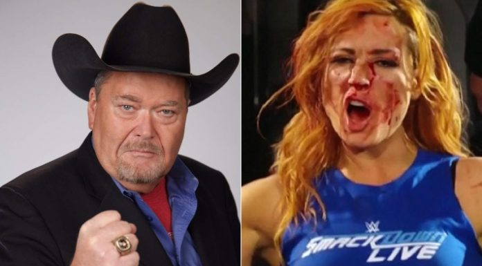 Jim Ross Becky Lynch