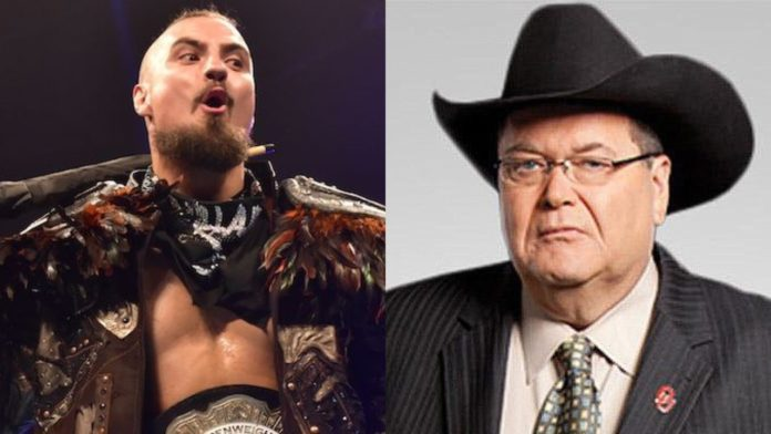 Marty Scurll Jim Ross