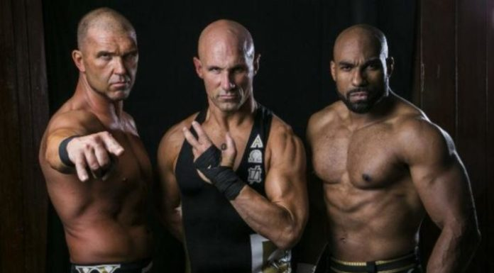 Christopher Daniels and the rest of SCU