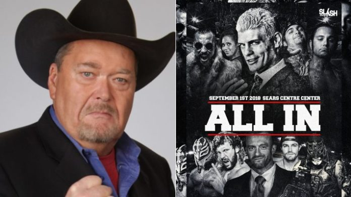Jim Ross on All In 2