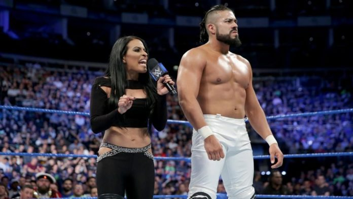 Andrade 'Cien' Almas and zelina Vega. Photo Credit: WWE.com