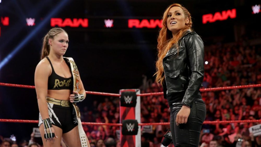 report  wwe to close wrestlemania 35 with lynch vs  rousey