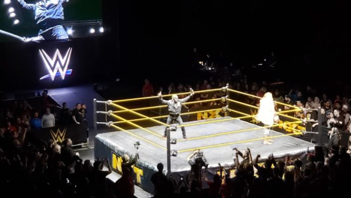 Image result for Rey Mysterio Makes Surprise Appearance At NXT Live Event