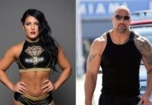 Tessa Blanchard the Rock