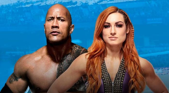 The Rock & Becky Lynch