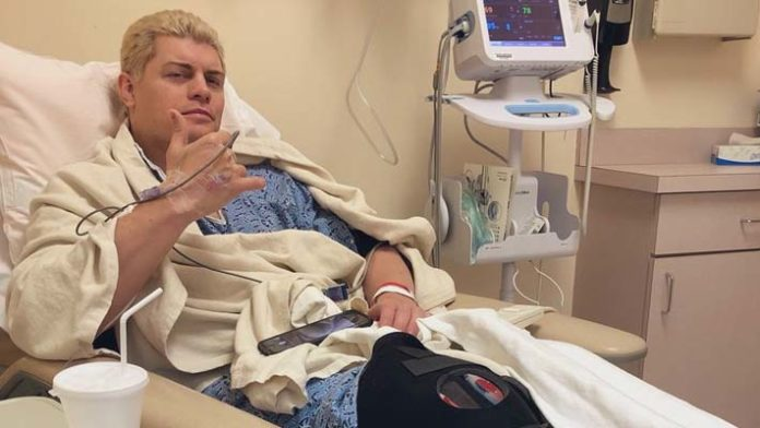 Image result for Cody Rhodes Undergoes Successful Surgery Today