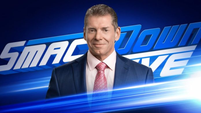 Mr McMahon will be on SmackDown this week