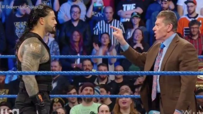 Roman Reigns arrives on WWE SmackDown