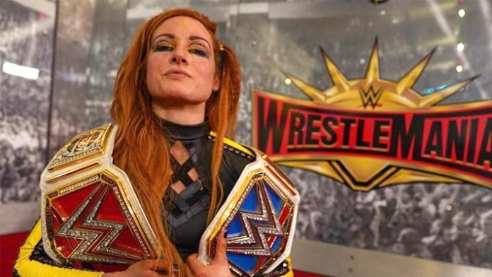 Becky Lynch WrestleMania 35