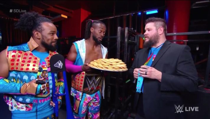 Kevin Owens and The New Day