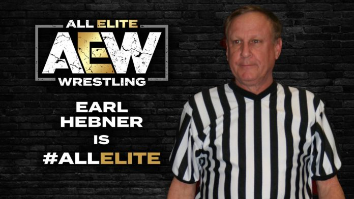 Earl Hebner is All Elite